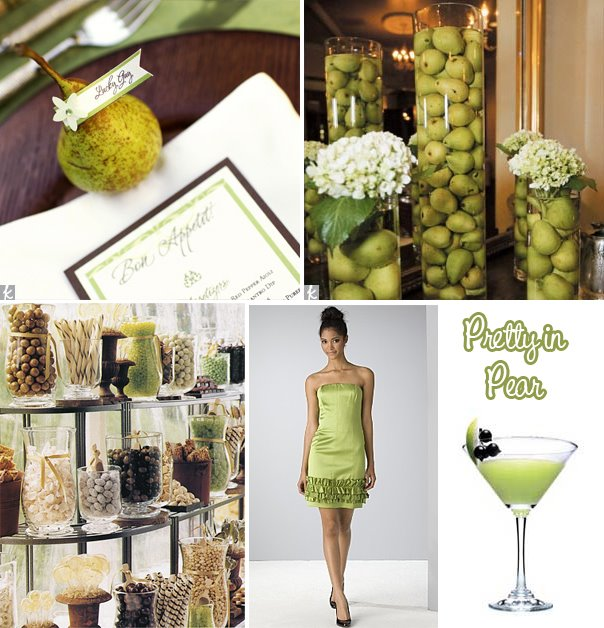 Perfect Pear Wedding Theme | Fantastical Wedding Stylings