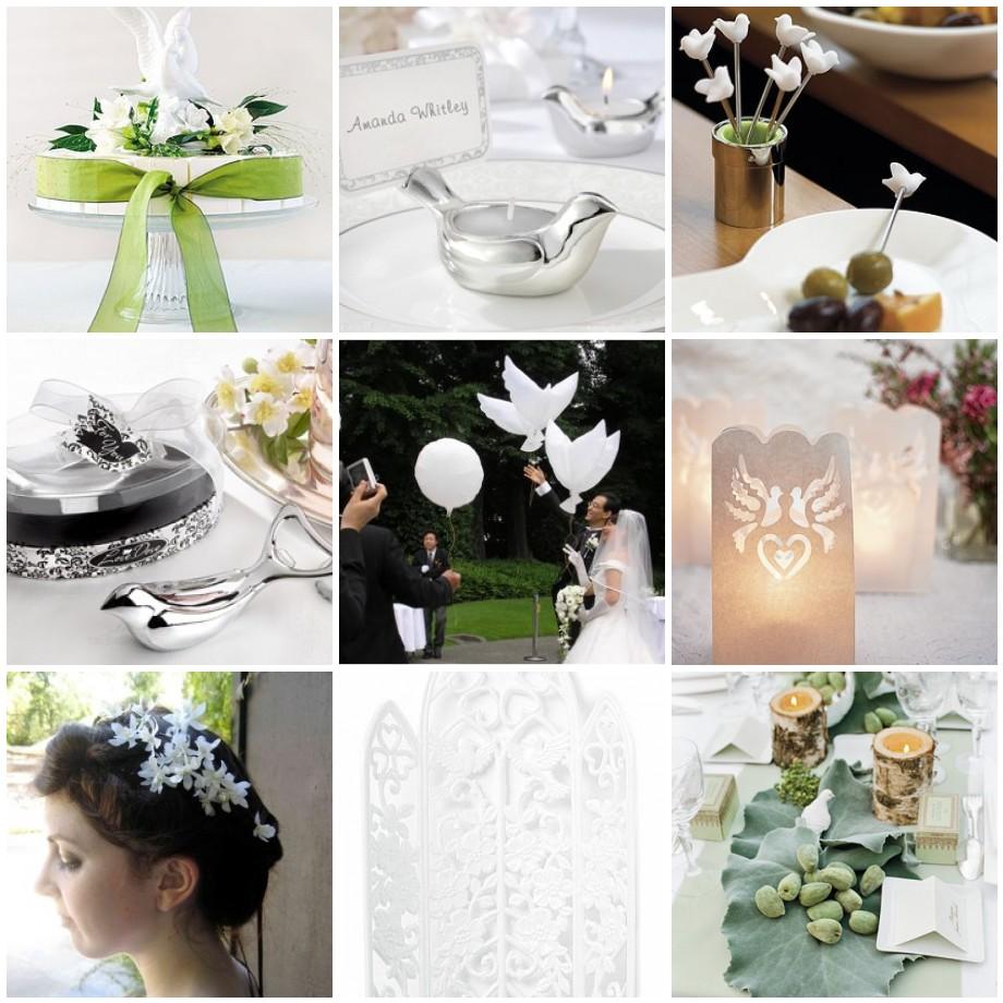 Bird Wedding Theme Fantastical Wedding Stylings