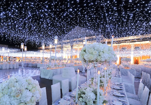 Starry Starry Night Wedding Theme Fantastical Wedding Stylings