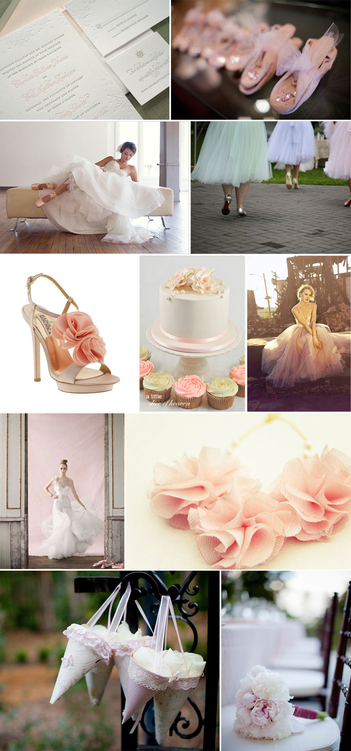 Ballet Wedding Theme | Fantastical Wedding Stylings