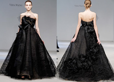 Black Wedding Dress 2