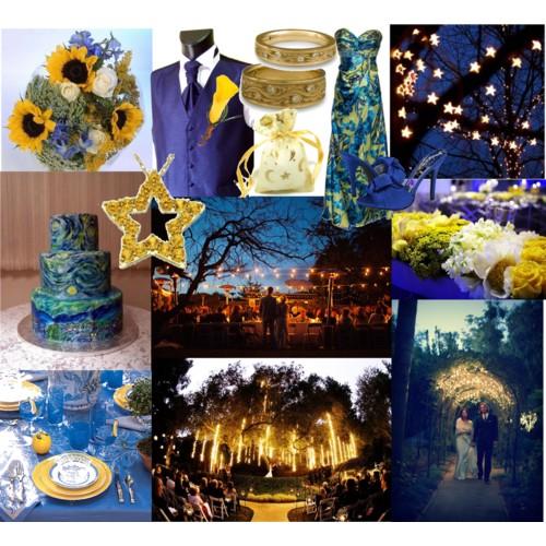 Starry Starry Night Wedding Theme Fantastical Wedding
