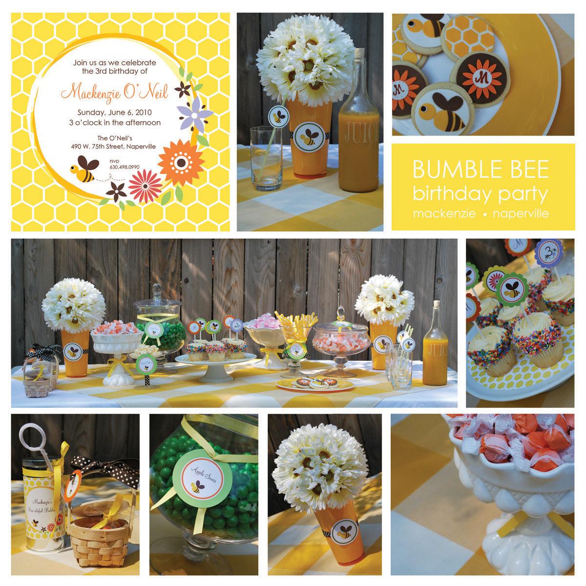 Bee Wedding Theme