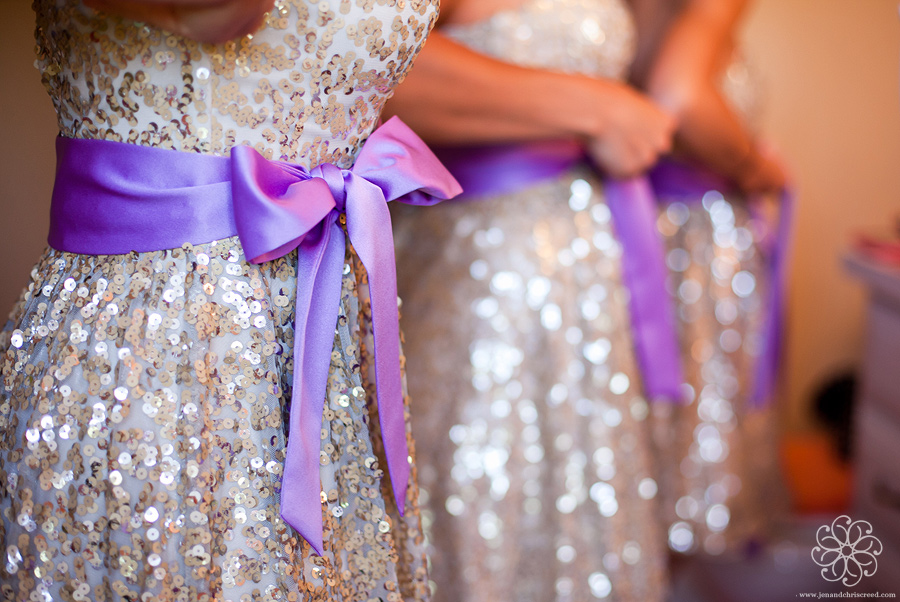 Purple & Champagne Colour Scheme | Fantastical Wedding Stylings