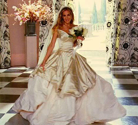 Wedding Dresses In Sex And The City Movie