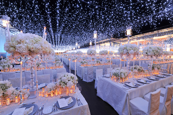 "Starry, Starry Night"" Wedding Theme | Fantastical Wedding Stylings"