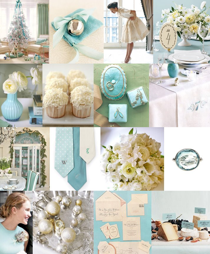Wedding Ideas And Inspirations: Breakfast At Tiffany's Wedding Theme