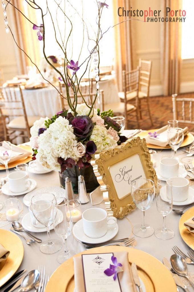 Purple champagne colour scheme fantastical wedding stylings advertisements junglespirit Images