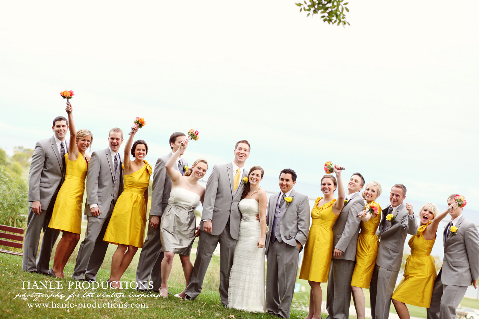 Fun Spring Colour Schemes Fantastical Wedding Stylings