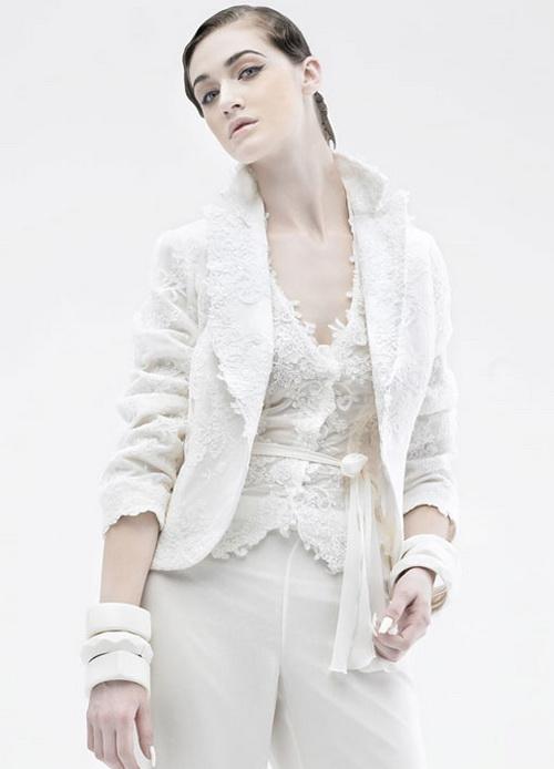 Wedding dress alternatives fantastical wedding stylings for Suit dresses for weddings