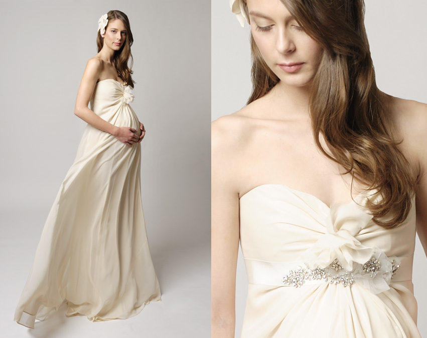 Wedding Dresses For Pregnant Women 77