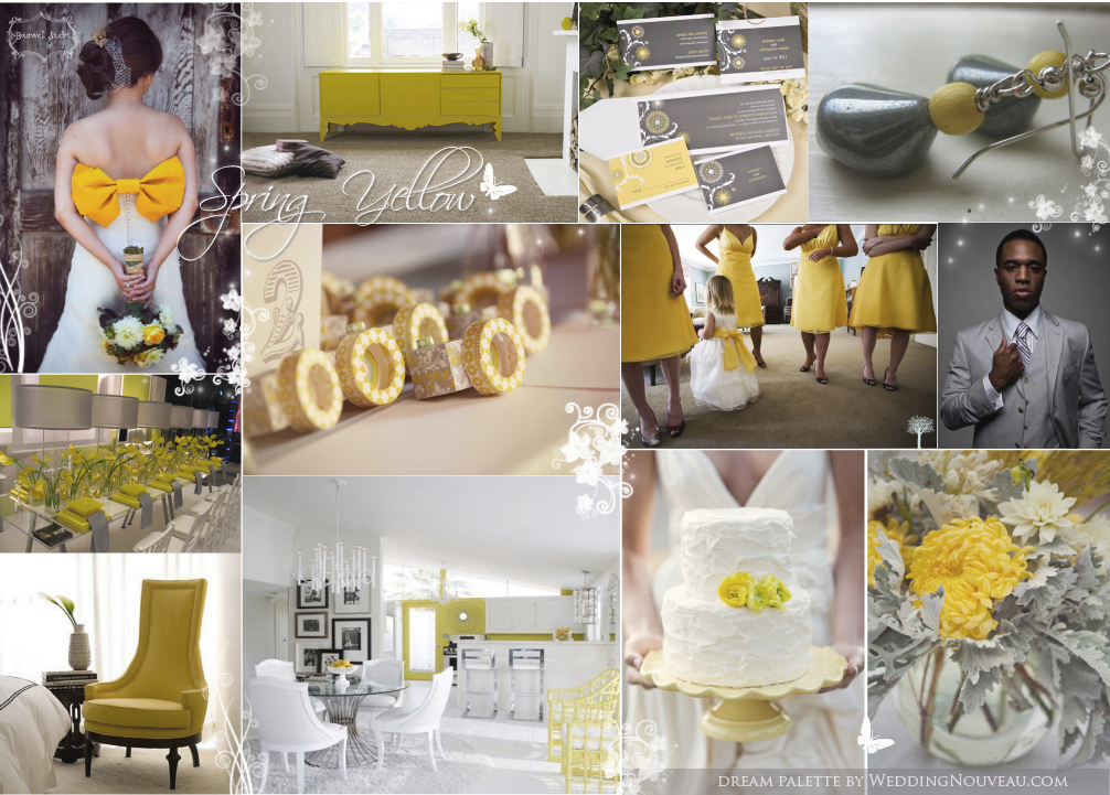 My Spring Colour Obsession: Yellow & Grey