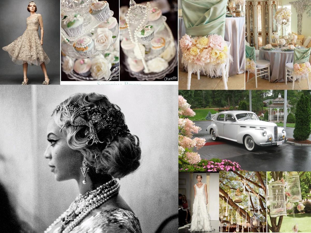 A Great Gatsby Wedding Theme Fantastical Wedding Stylings