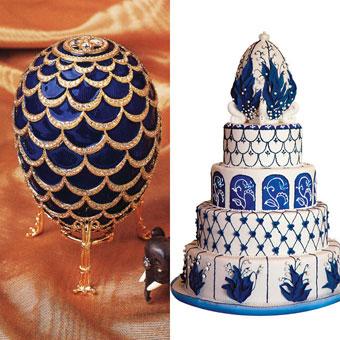 Faberge Egg Wedding Cake