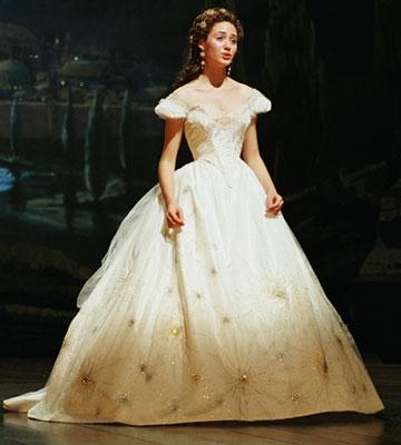 Emmy Rossum Phantom of the Opera Dress