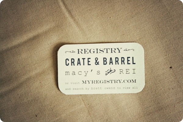 Wedding Gift Card Registry: Fantastical Wedding Stylings