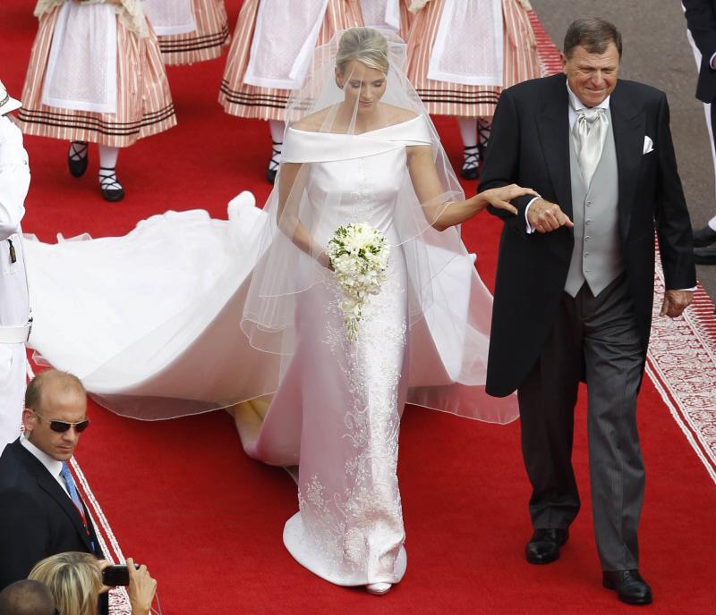 Fine Princess Charlene Wedding Dress Pictures Inspiration - Wedding ...