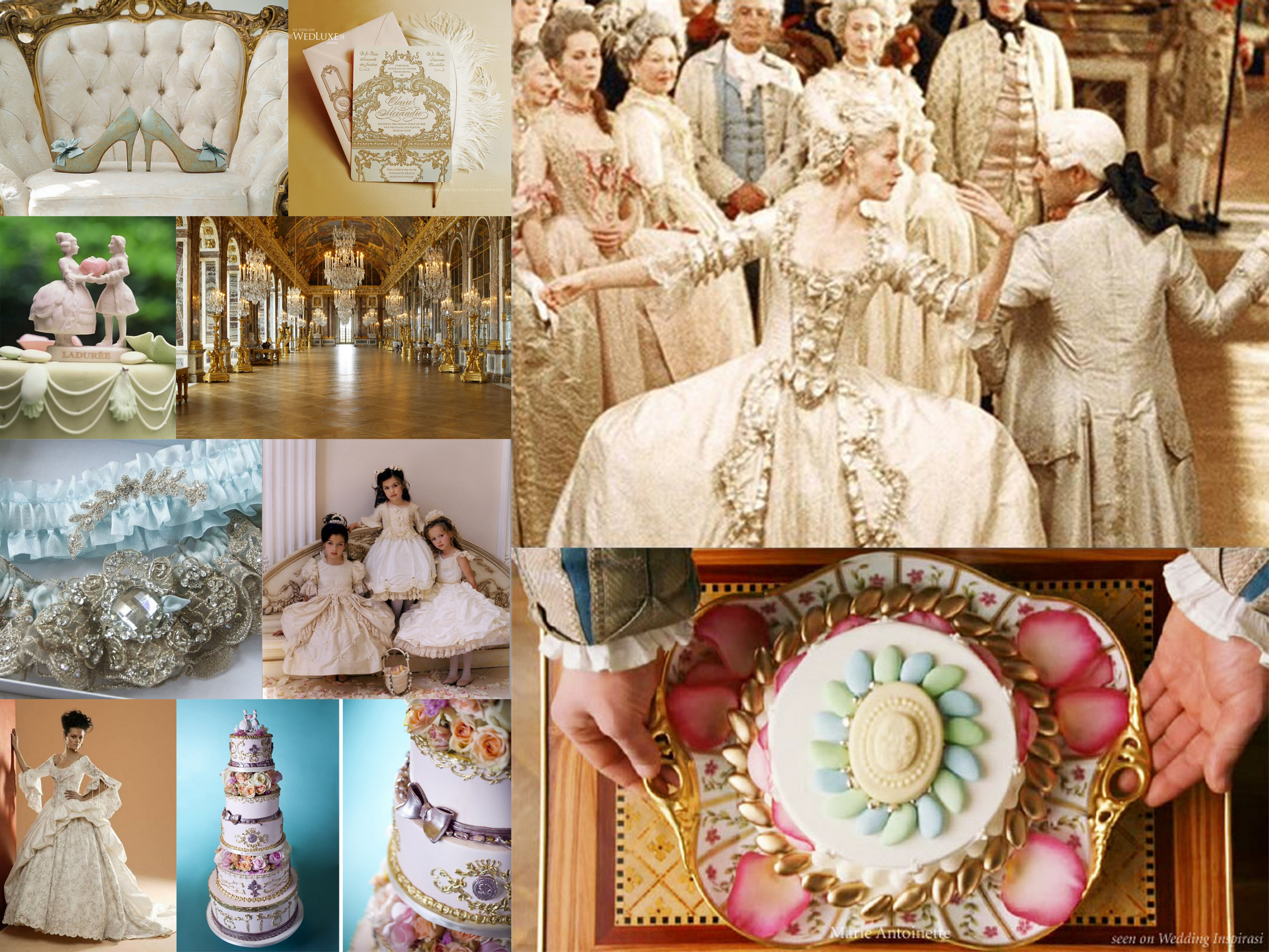 Books & Movies: Marie Antoinette Wedding Inspiration | Fantastical ...