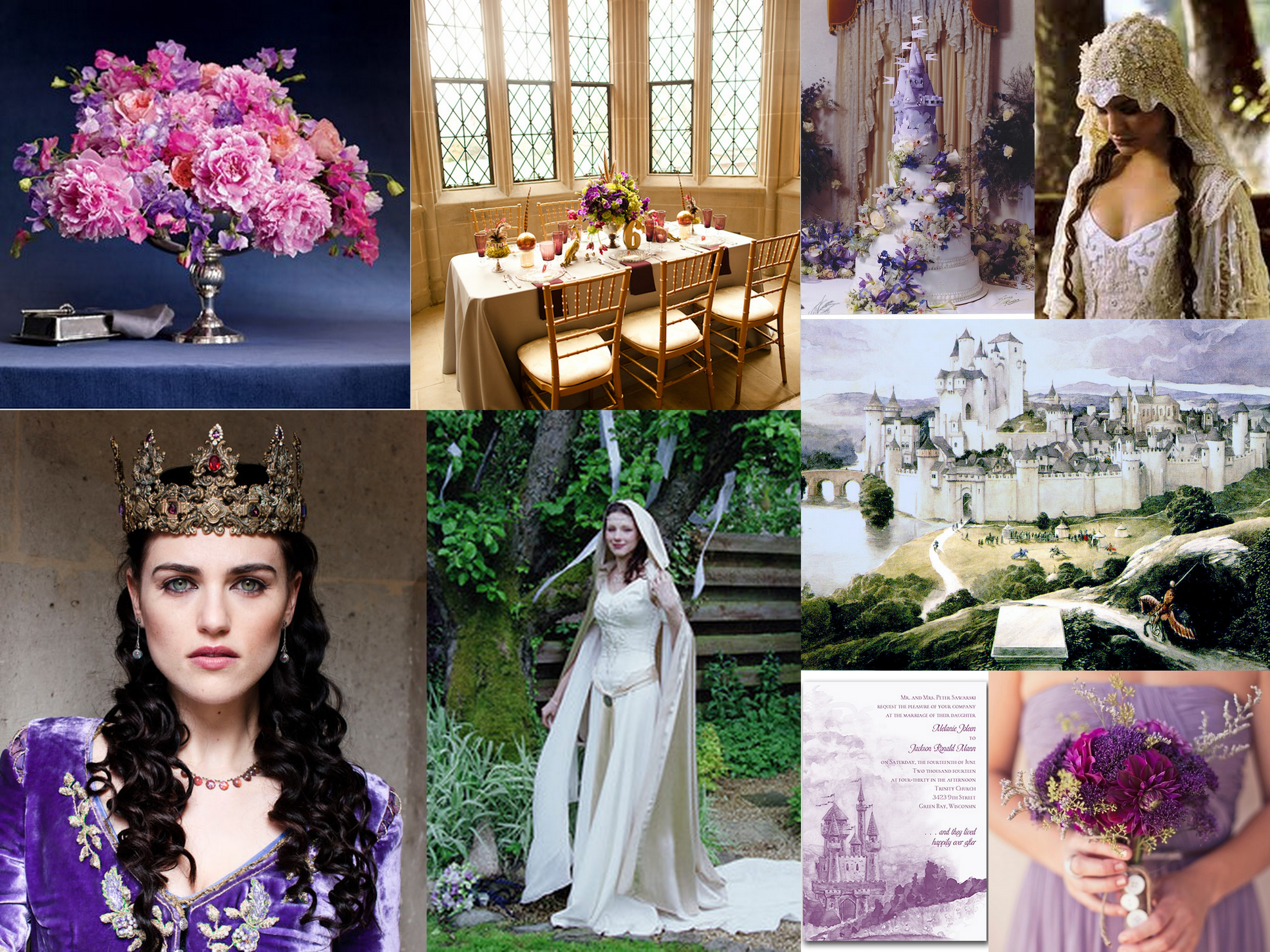 Merlin Wedding Inspiration Fantastical Wedding Stylings