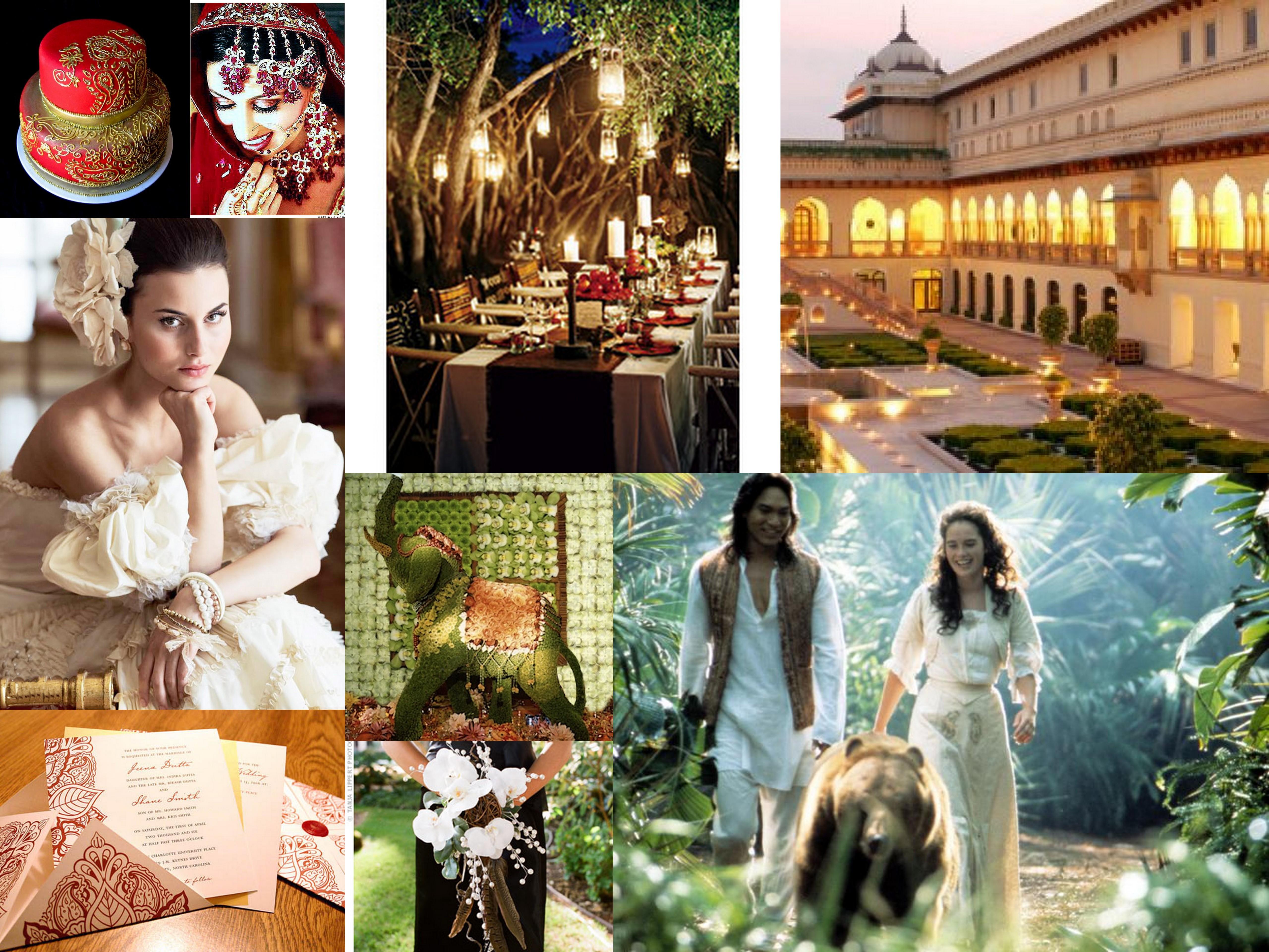 Books Movies The Jungle Book Wedding Inspiration Fantastical