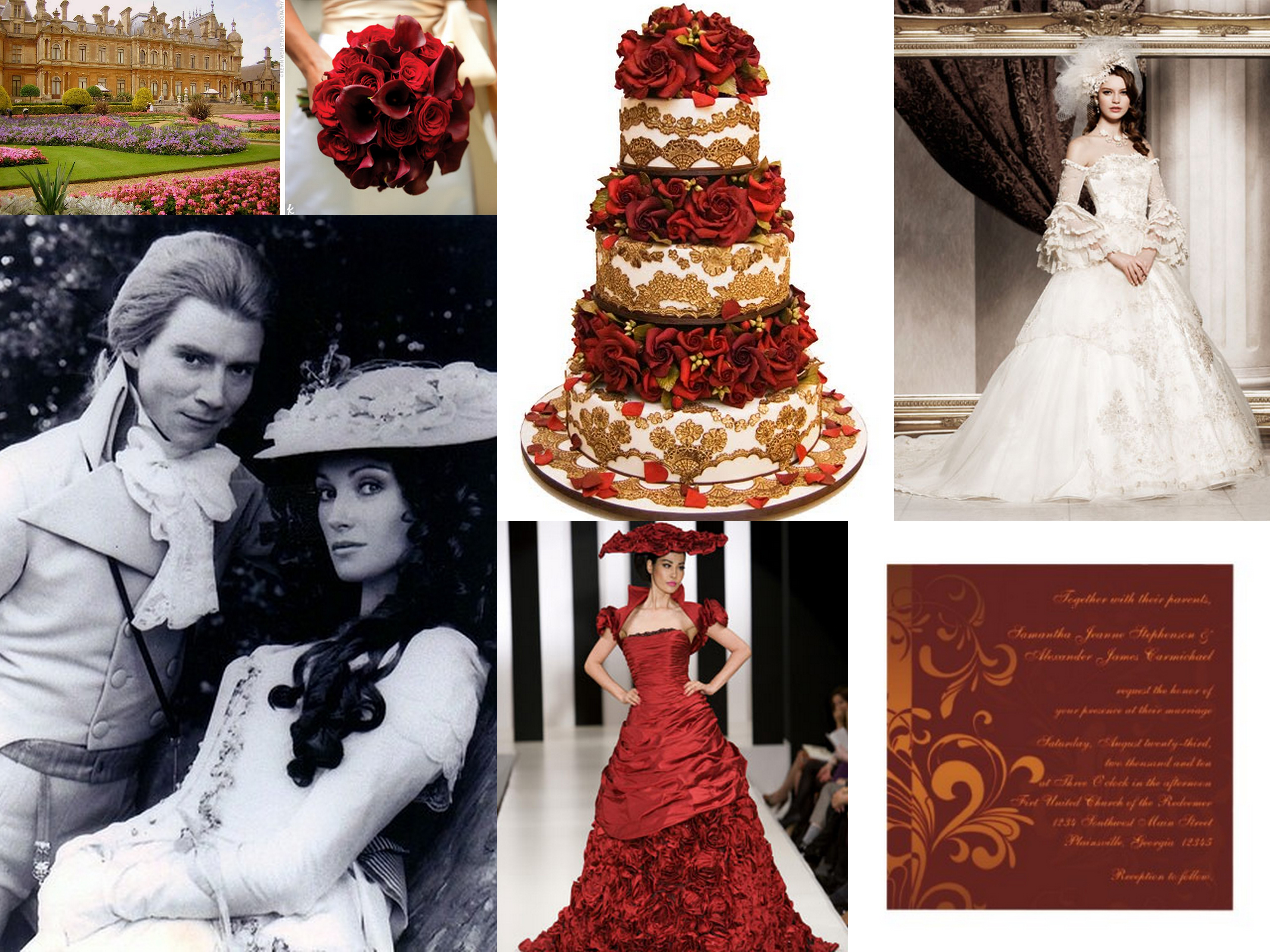 Awesome Phantom Of The Opera Themed Wedding Pictures Styles