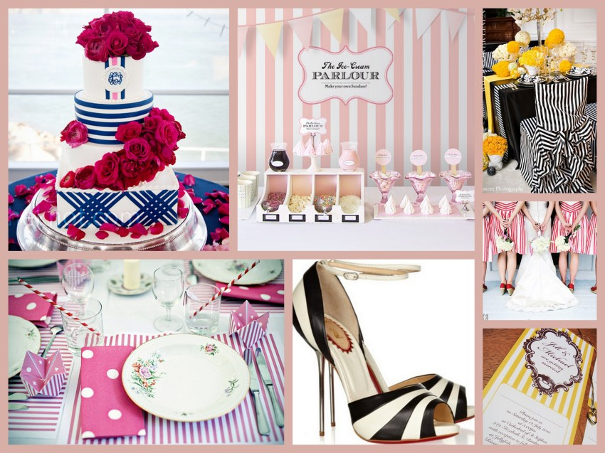 Striped Collage
