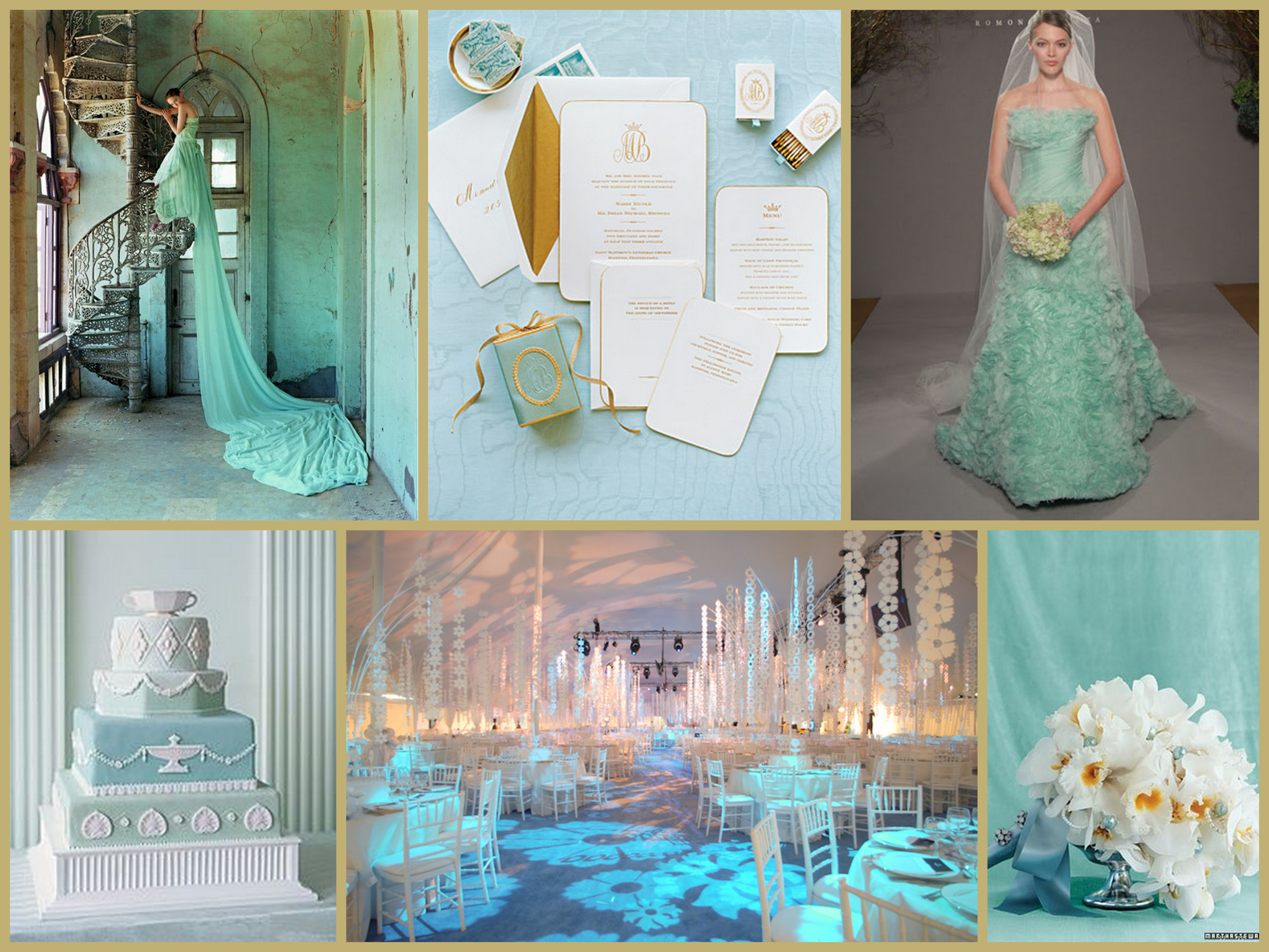 Turquoise beauty fantastical wedding stylings for What are wedding themes