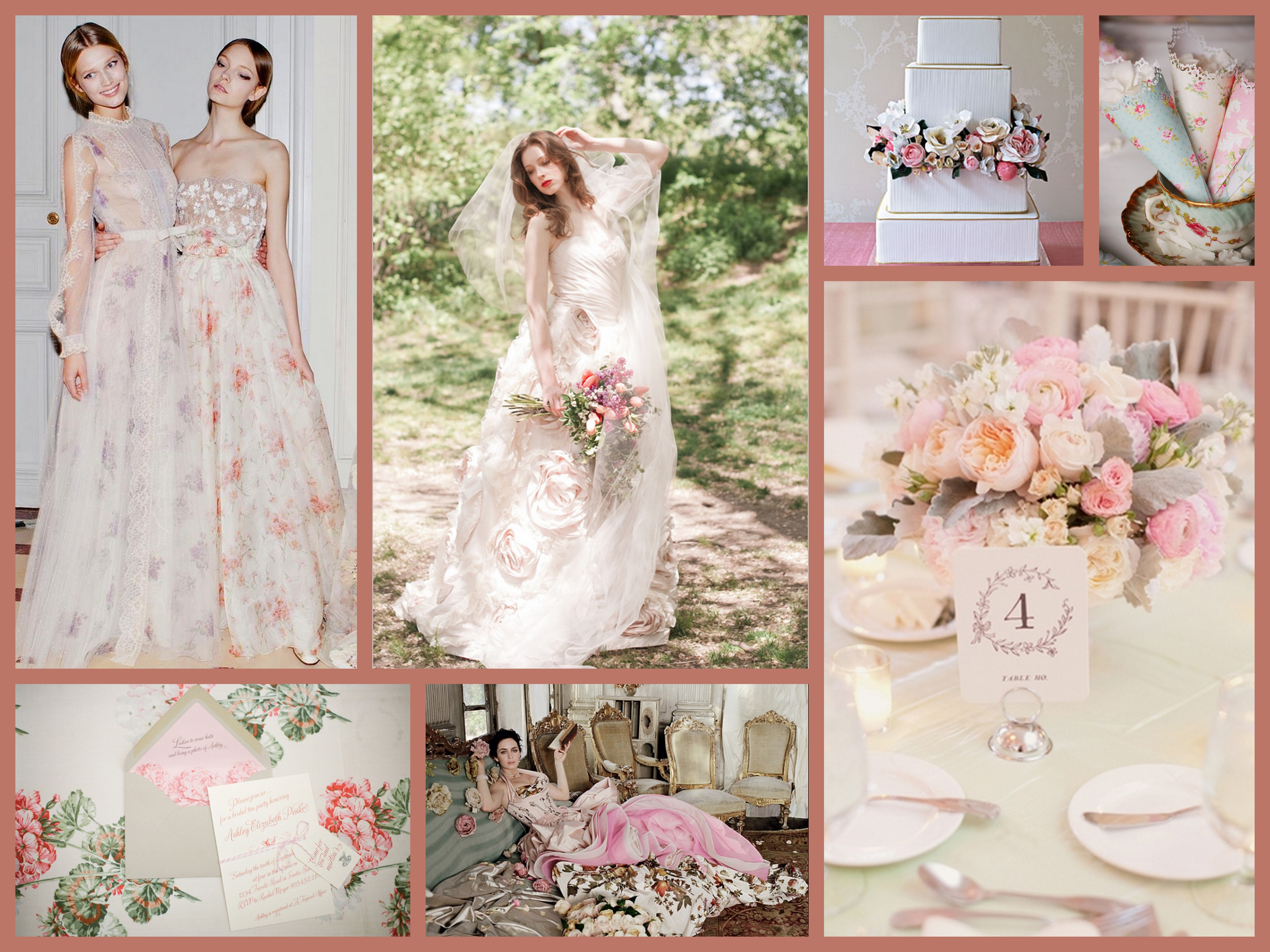 Favourite Inspirations Fantastical Wedding Stylings