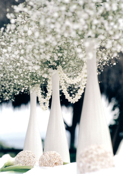 White Wedding Flowers Fantastical Wedding Stylings