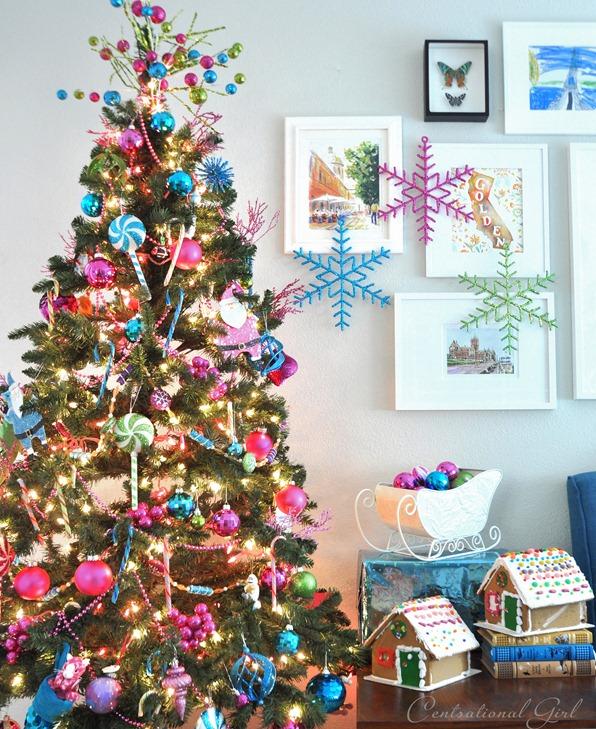 Christmas 101 Tanenbaum Colour Combos Fantastical Wedding Stylings - Multi Colored Christmas Trees