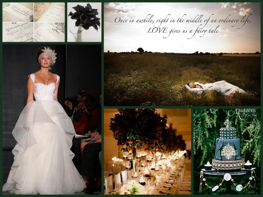faerie tale   Fantastical Wedding Stylings