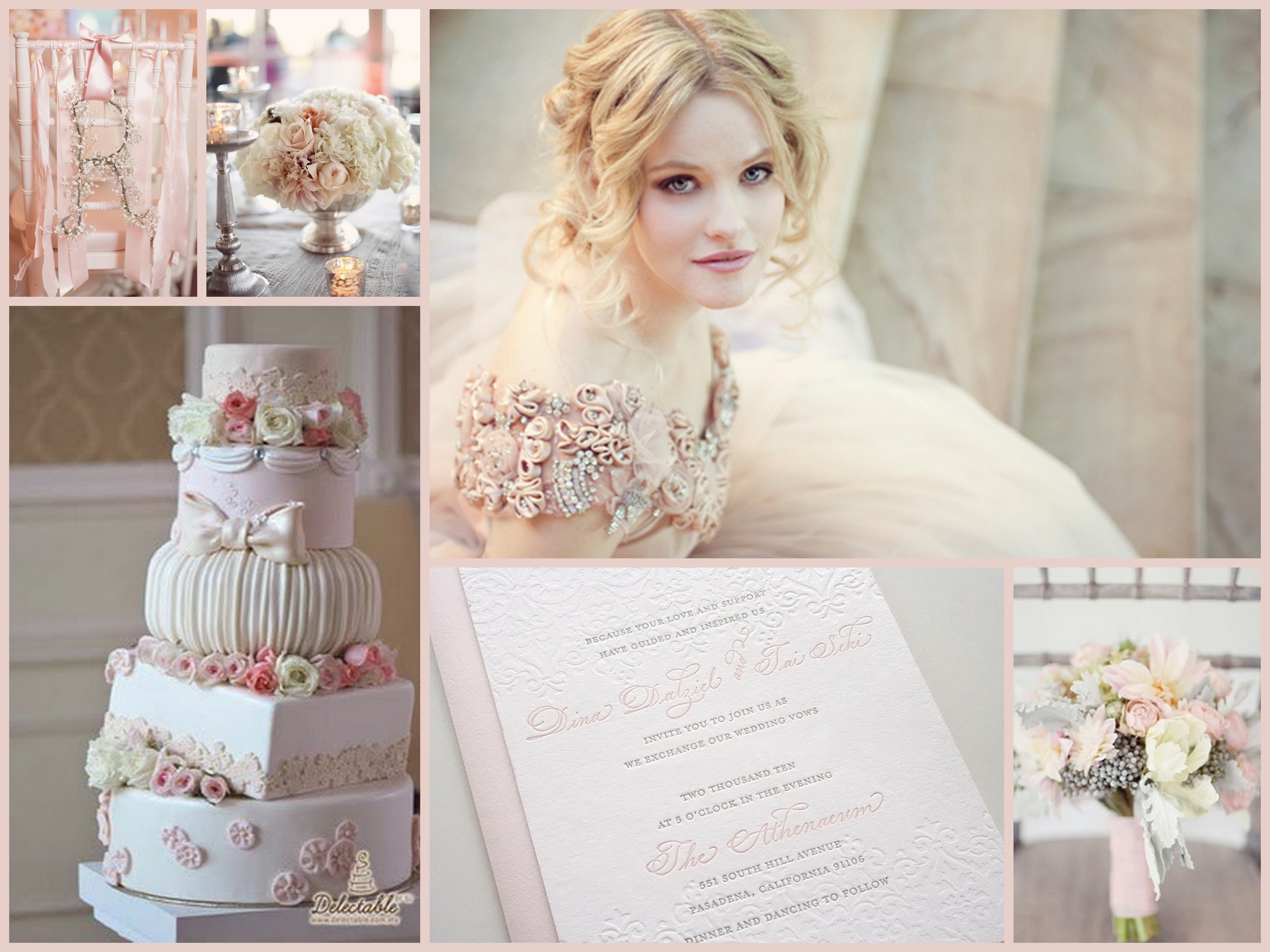 Winter Pink Wedding Inspiration Fantastical Wedding Stylings