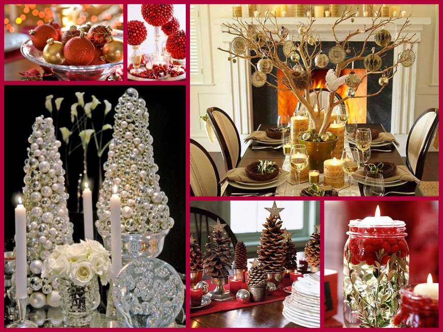 Christmas Centerpiece Collage
