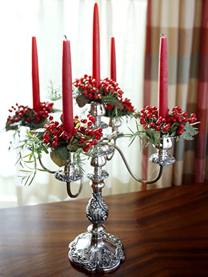 Christmas 101 Centerpieces Fantastical Wedding Stylings
