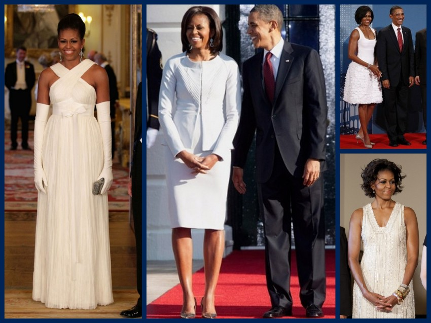 FLOTUS Bridal Fashions Collage