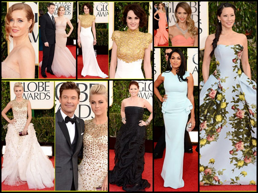 GoldenGlobes2013 Collage