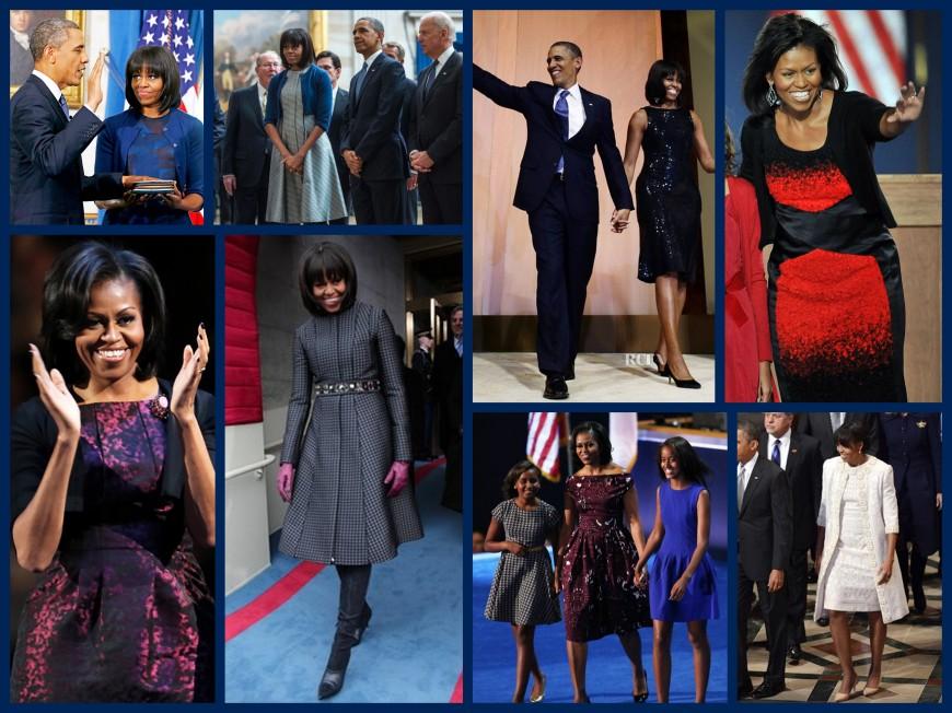 Inaugural Fashions Collage_MichelleObama