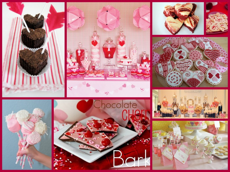 Sweeties for Your Sweetie Collage