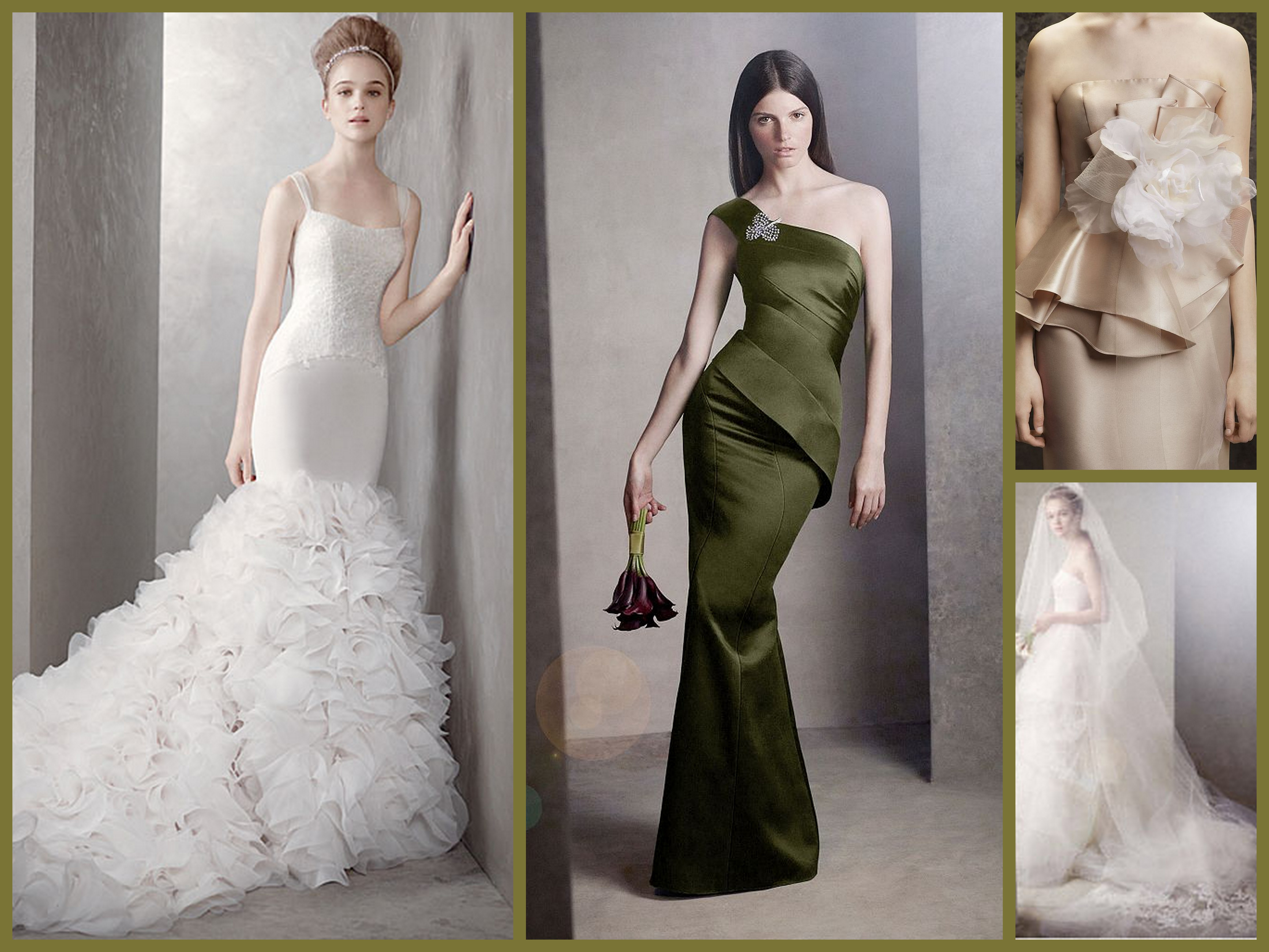 vera wang on a budget fantastical wedding stylings