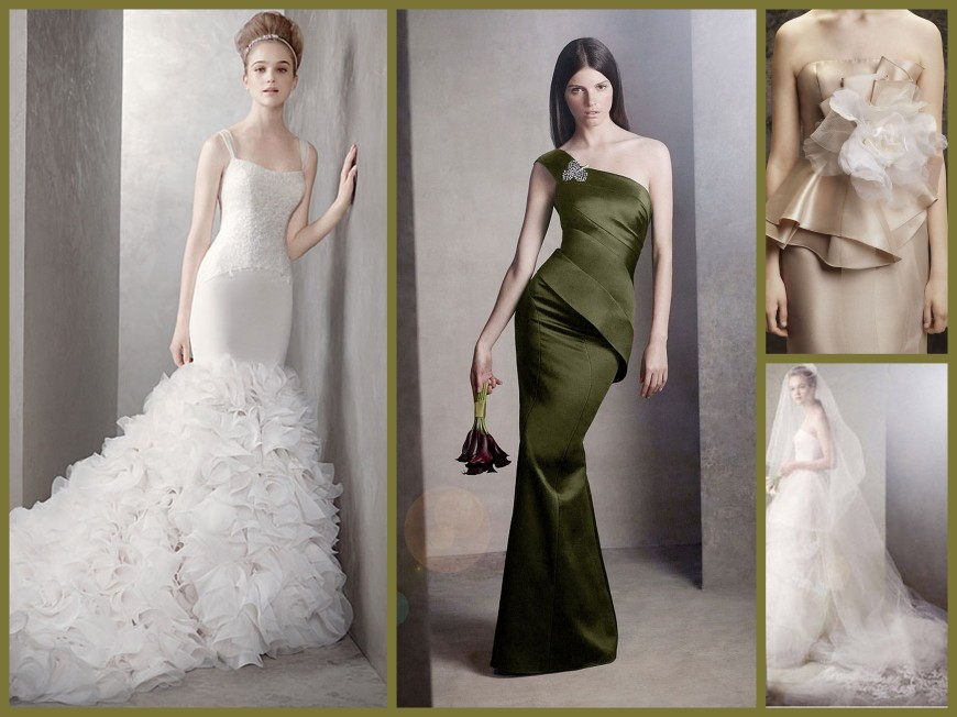 VeraWangWhite Collage