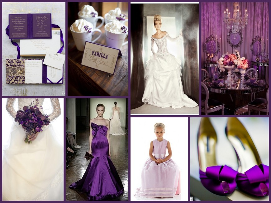 Winter Purples Collage_II