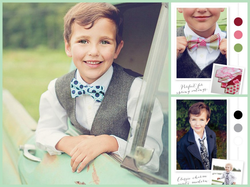 Bows Beaux and Cuties Collage_Boys