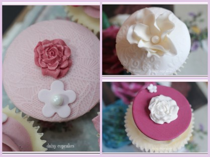 Daisy Cupcakes Collage2