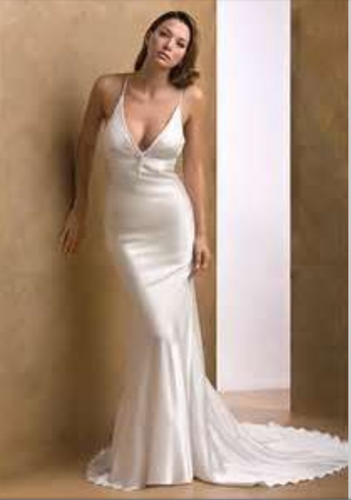 Sexy wedding dresses how sexy is too sexy fantastical for Satin silk wedding dresses