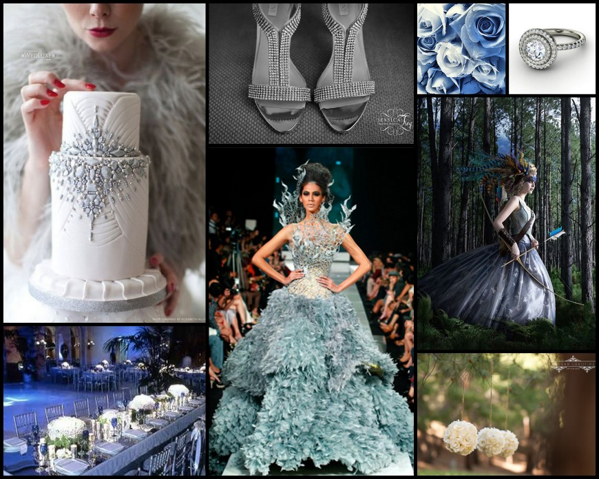 Hunger Games Wedding Collage_Blue