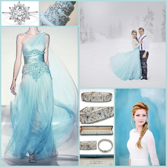 Frozen Wedding Collage3