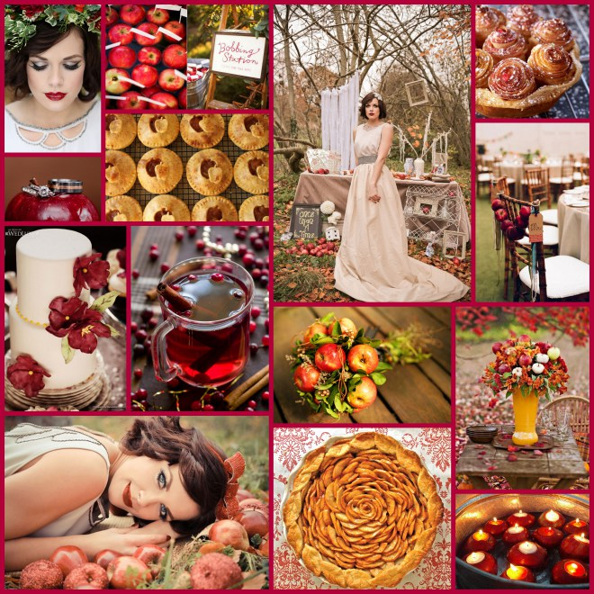 Apple Collage_Red